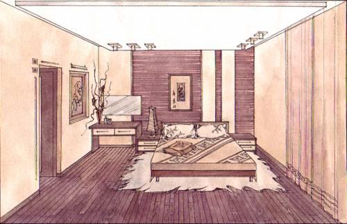 Картинки дизайн комнаты чертеж