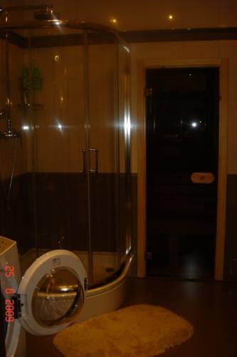 Комнаты ванная с душевой кабиной